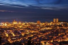 Panorama of Santa Cruz de Tenerife Royalty Free Stock Images