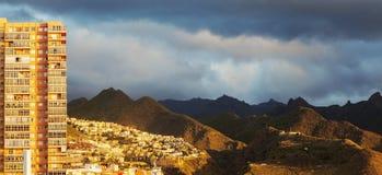 Panorama of Santa Cruz de Tenerife Royalty Free Stock Image