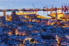 Panorama of Santa Cruz de Tenerife Stock Photos