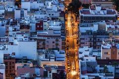 Panorama of Santa Cruz de Tenerife Stock Image