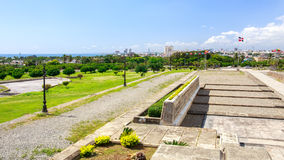 Panorama of Santo Domingo Royalty Free Stock Photos
