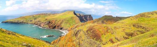 Panorama of Sao Lourenco, Madeira Stock Photos