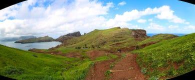 Panorama of Sao Lourenco, Madeira Royalty Free Stock Photos