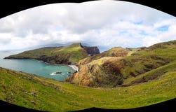Panorama of Sao Lourenco, Madeira Stock Photo