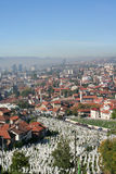 Panorama of Sarajevo Royalty Free Stock Image
