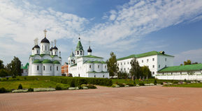 Panorama of the Saviour monastery in Murom Royalty Free Stock Photography