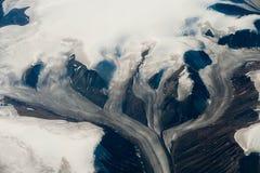 Glacier au Groenland Photos libres de droits