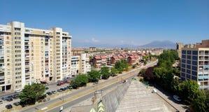 Panorama Scampia, Naples, Włochy - Fotografia Royalty Free