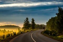 Panorama scenico della natura fotografie stock libere da diritti