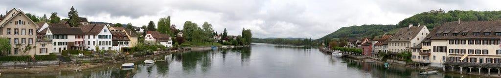 Panorama of Schaffhausen Royalty Free Stock Photo