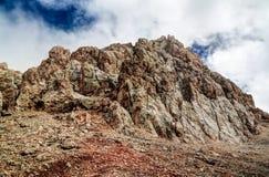 Panorama Schalbus-Dag de la montagne, Dagestan, Caucase Russie Photo libre de droits