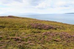 Panorama scozzese rurale fotografia stock