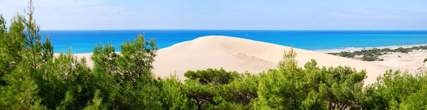 Panorama sea-view Royalty Free Stock Photos