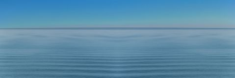 Panorama of sea waves on the background relaxing wave Stock Images