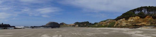 Panorama  Seal Rocks Stock Photo