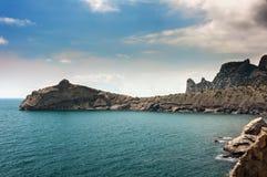 Panorama. Seascape. Crimean Peninsula Stock Photography