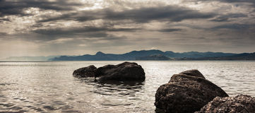 Panorama. Seascape. Royalty Free Stock Images