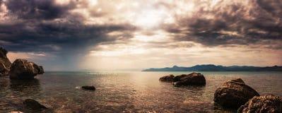 Panorama. Seascape. Stock Image