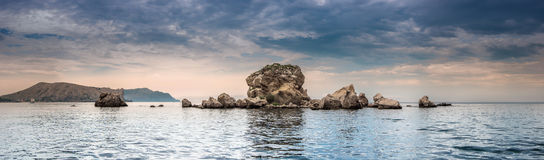 Panorama. Seascape. Stock Photography