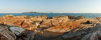 Panorama seascape Royalty Free Stock Image