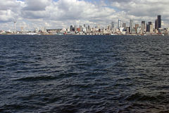 panorama seattle Royaltyfri Bild