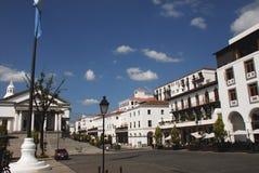 Panorama secteur d'achats du ` s de Guatemala City de nouveau photos stock