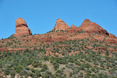 Panorama sedona Stock Photos