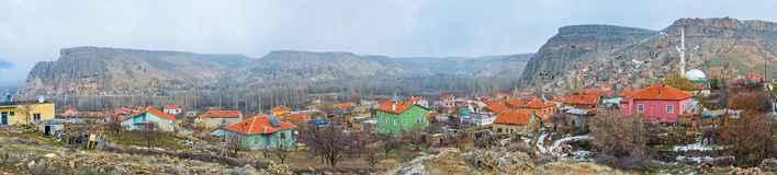 Panorama of Selime Stock Images