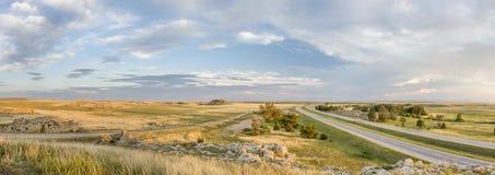 Panorama septentrional de la pradera de Colorado Foto de archivo libre de regalías