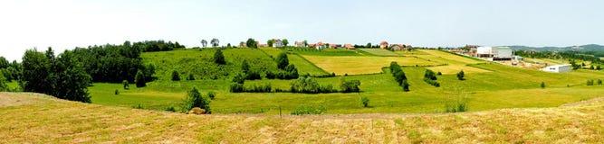 panorama serbia arkivbilder