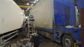 Panorama in truck service