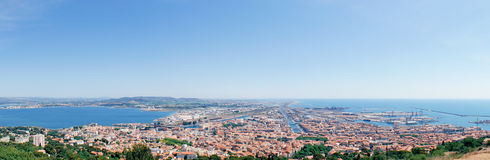 Panorama of Sete Royalty Free Stock Photos