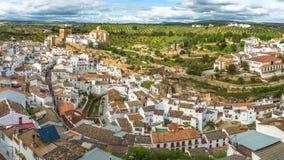Panorama Setenil Málaga almacen de video