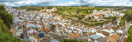 Panorama Setenil Malaga Royalty Free Stock Images