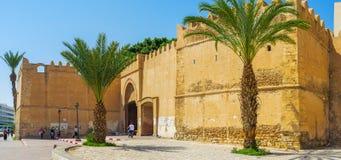 Panorama of Sfax fortress, Tunisia royalty free stock photo