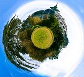 Panorama sferico Fotografia Stock Libera da Diritti