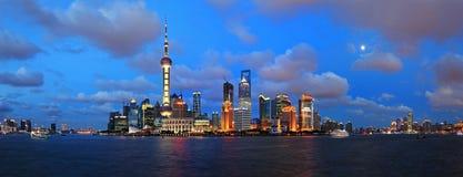 Panorama of Shanghai  Royalty Free Stock Photography