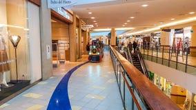 Panorama shopping mall in Vilnius Stock Photo