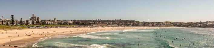Panorama shot of Bondi beach, Sydney Australia