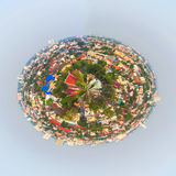 panorama shot of Chiang Mai (the old city),Thailand  for back gr Royalty Free Stock Photo