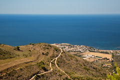 PANORAMA SICILIA DE BONAGIA Photo stock