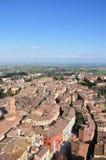 Panorama of the Siena Royalty Free Stock Photos