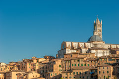 Panorama of Siena, Tuscany, Italy Royalty Free Stock Photos