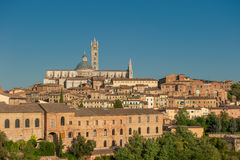 Panorama of Siena, Tuscany, Italy Stock Photos