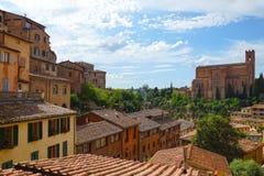 Panorama of Siena, Tuscany, Italy Royalty Free Stock Photography