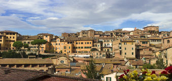 Panorama of Siena, Tuscany, Italy Stock Image