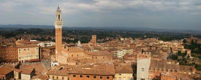 Panorama of Siena Royalty Free Stock Photo