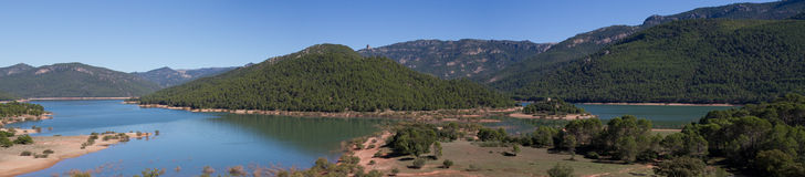 Panorama of Sierra Cazorla Stock Photos