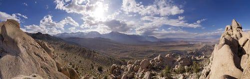 Seirra Nevada Panorama Stock Images