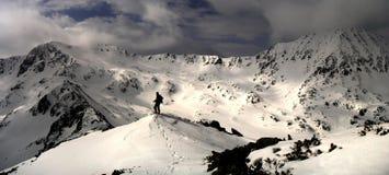 panorama- sikt Fotografering för Bildbyråer